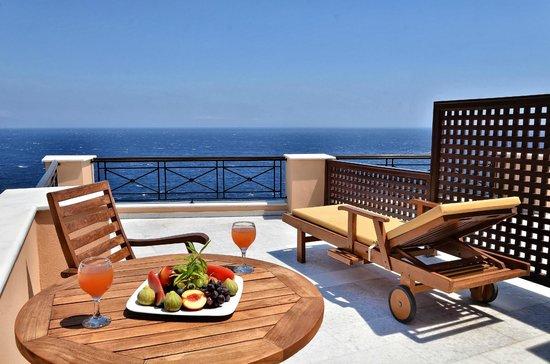 Arion Hotel: junior suite veranda