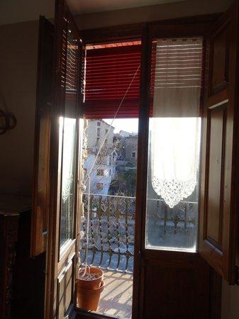 Casa Leonardo: Vue de notre chambre donnant sur le fleuve