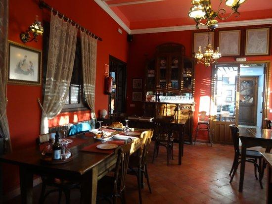 Casa Leonardo: La salle à manger