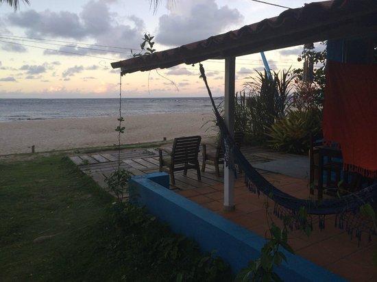 Pousada Luar das Aguas : Varanda com frente para o mar