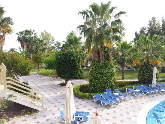 Lycus Beach Hotel: vue sur les jardins
