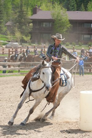 C Lazy U Ranch: Outdoor Riding Arena