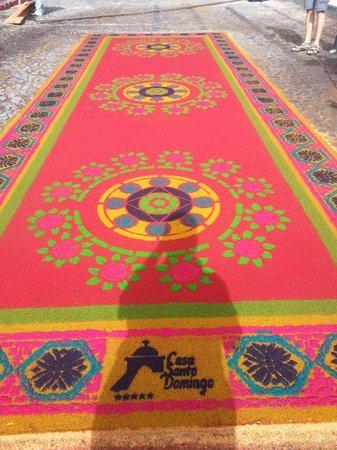 Hotel Museo Spa Casa Santo Domingo: Street carpet