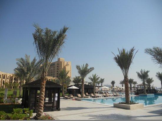 DoubleTree by Hilton Resort & Spa Marjan Island: Blick auf das Hotel