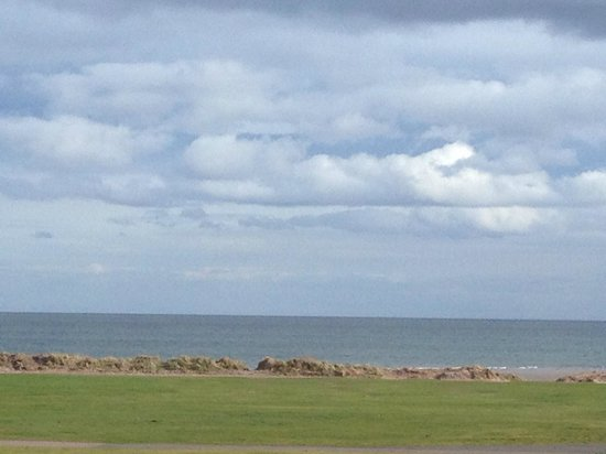 Carnoustie Golf Course Hotel : view from our hotel room