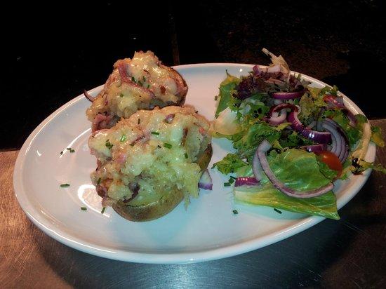 Stuffed potato skins - Picture of Kitchen Garden Cafe