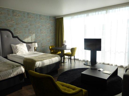 Thon Hotel Bristol Stephanie : 部屋一例