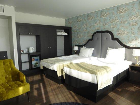 Thon Hotel Bristol Stephanie : ベッド