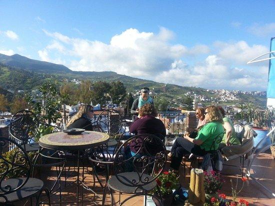 Casa Elias Chaouen: Disfrutar de  la vista panorámica