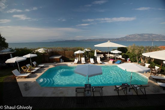 ENALIO Suites: View from the balciny