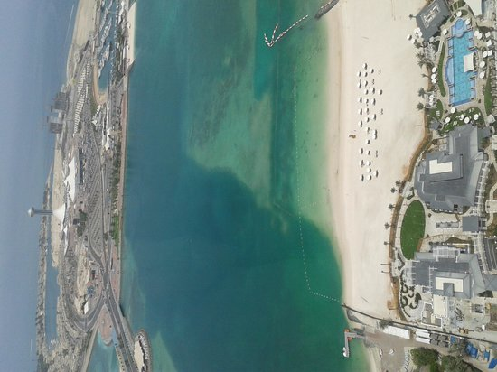 The St. Regis Abu Dhabi: sea view from room