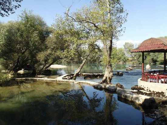Manavgat Waterfall and River: M3