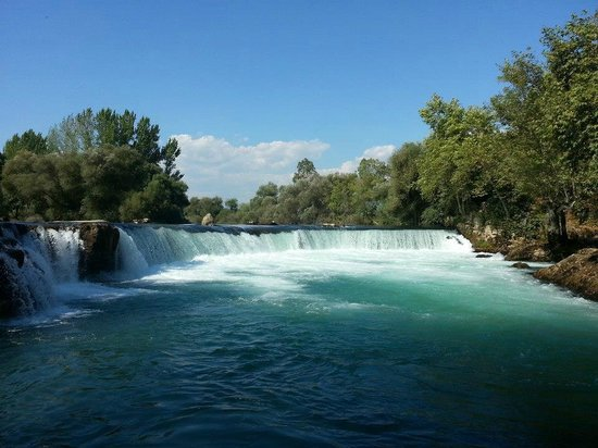 Manavgat Waterfall and River: M5