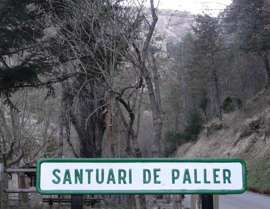 Santuari del Paller: Arrivée