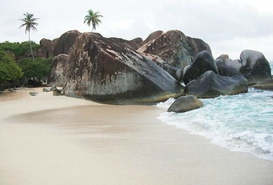 Rosewood Little Dix Bay: virgin gorda, little dix bay, isole vergini britanniche, bvi, the bath