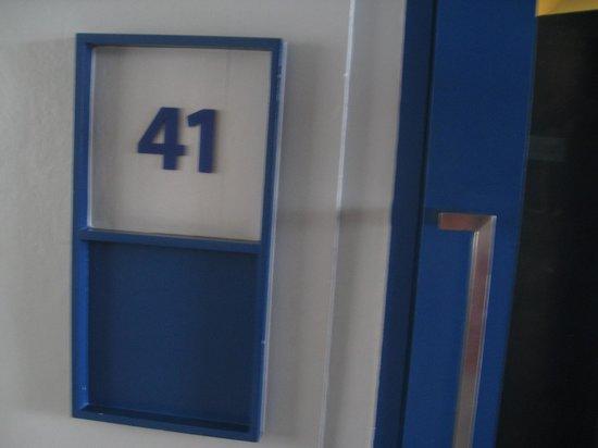 ETZzz Hostel : Room number again.