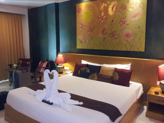 Tanawan Phuket Hotel: Our room!