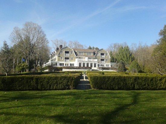 The Mayflower Grace: Main building seen from the garden