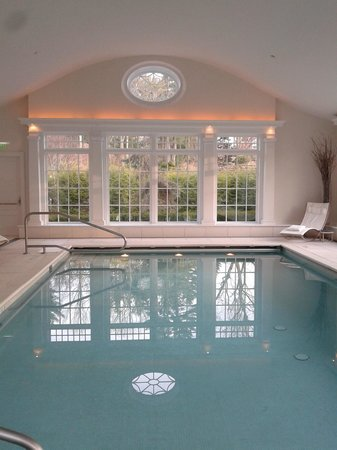 The Mayflower Grace: The indoor pool