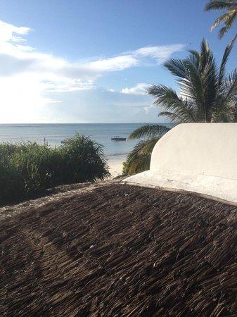 Zanzibar Retreat Hotel: view from our terrace