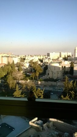 Leonardo Plaza Hotel Jerusalem: View from our room