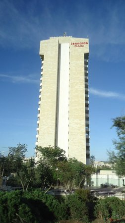 Leonardo Plaza Hotel Jerusalem : View of hotel from outside