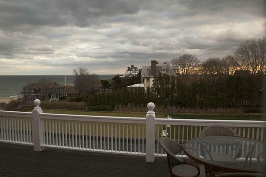 The Ocean House: View from terrace of Room 209