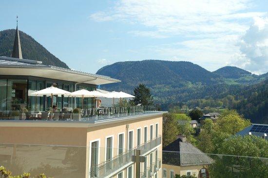 Hotel Edelweiss: Dachterrasse