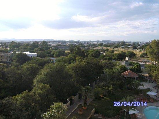 Safari Court Hotel : City view