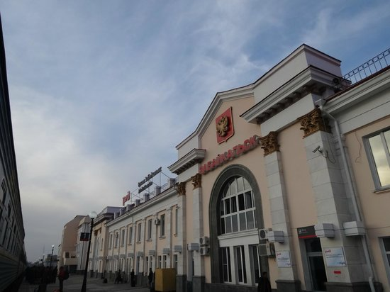 Zabaikalsk railway station