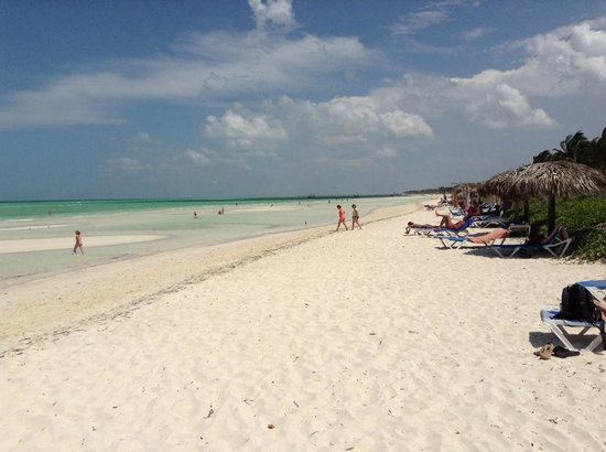 Sol Cayo Guillermo: Amazing beach at low tide
