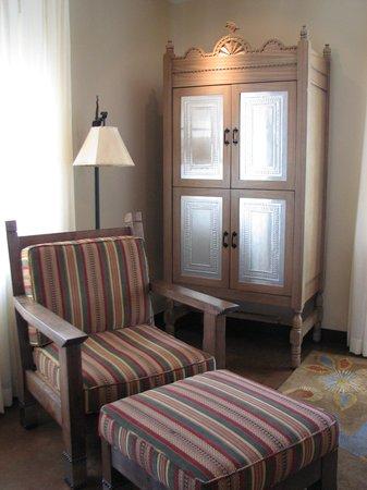 La Fonda on the Plaza: bedroom