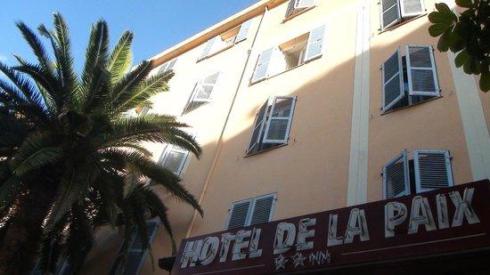 Hôtel de la Paix : la facade de l'Hôtel