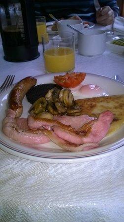 Bluebell House: le petit dejeuner