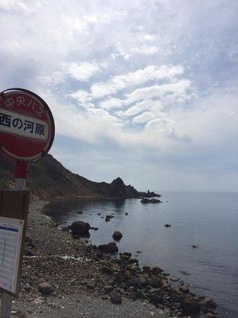 Kamoenai-mura, اليابان: 国道からはこんな感じです。