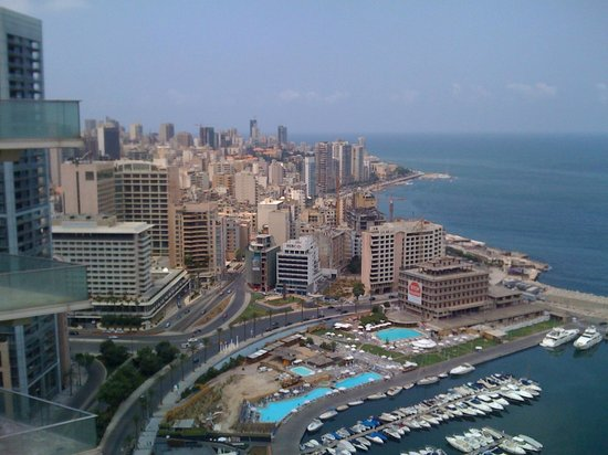 Four Seasons Hotel Beirut: View from room