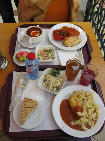 Stolovaya 57: Some of the tasty food (Russian and Ukrainian)