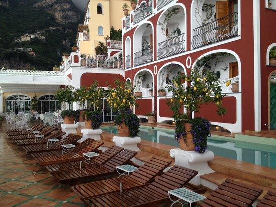 Le Sirenuse Hotel: La piscina