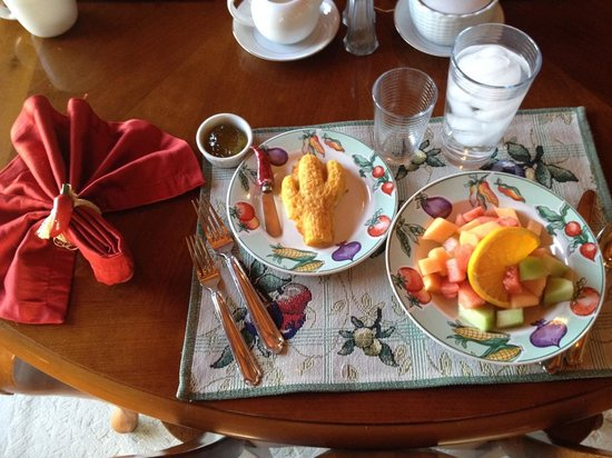 Casa Tierra: breakfast first course