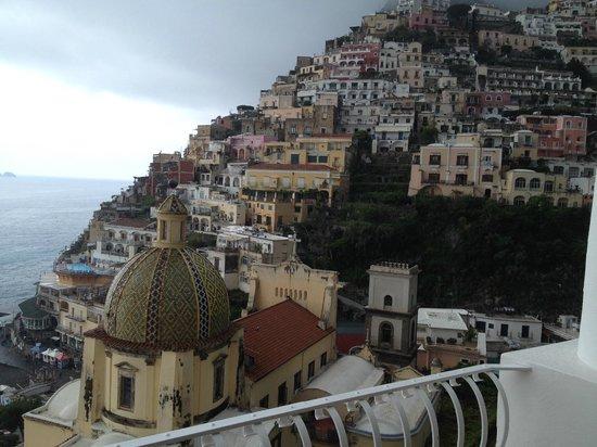 Le Sirenuse Hotel: La vista su Positano