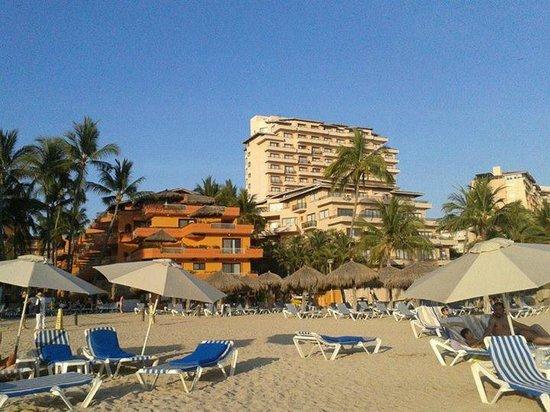 Villa del Palmar Beach Resort & Spa: Vista desde la playa