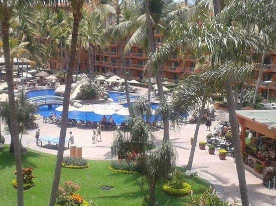 Villa del Palmar Beach Resort & Spa: Vista desde habitación