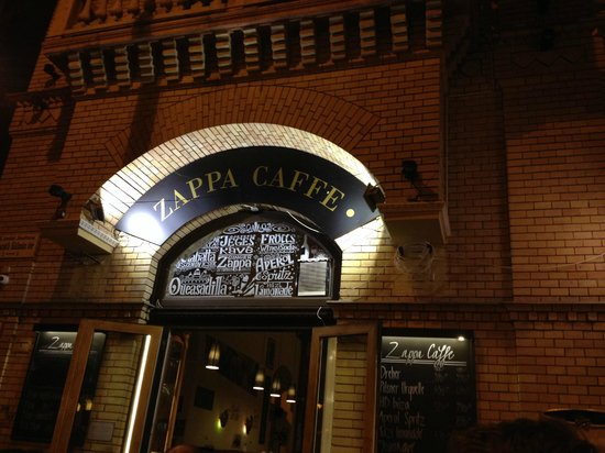 Photo of Hungarian Restaurant Zappa Cafe at Mikszath Kalman Ter 2, Budapest 1088, Hungary