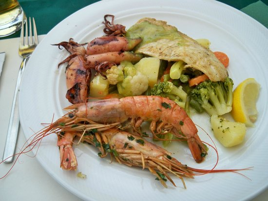 Poklisar: ottima grigliata con verdure