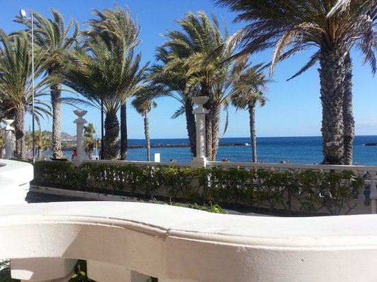Cleopatra Palace Hotel : vue de notre chambre