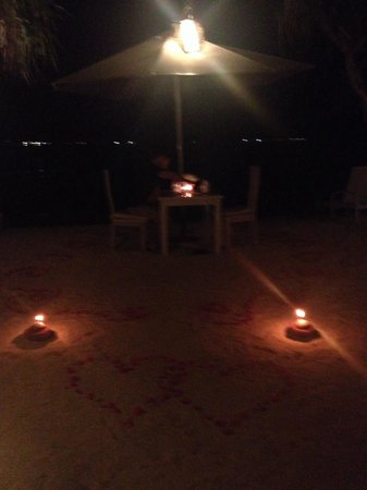 MAHAMAYA Gili Meno: Last night at Mahamaya