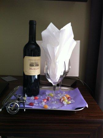 Hotel Trevi Collection: Al nostro arrivo....Un gradito omaggio
