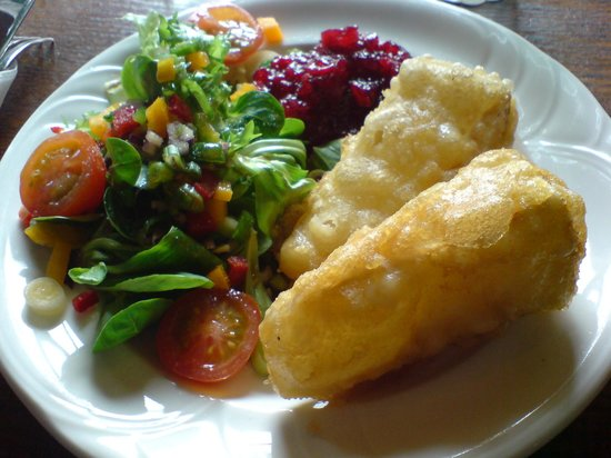 Tankerville Arms Hotel Wooler: My lunch.