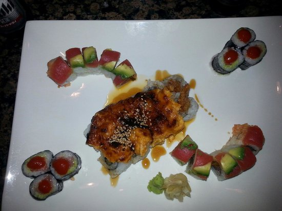 NSB Yu-Mi : Snow white roll, chilli roll, and the hurricane roll.