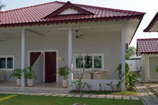 Langkawi Chantique Resort: Terrasse